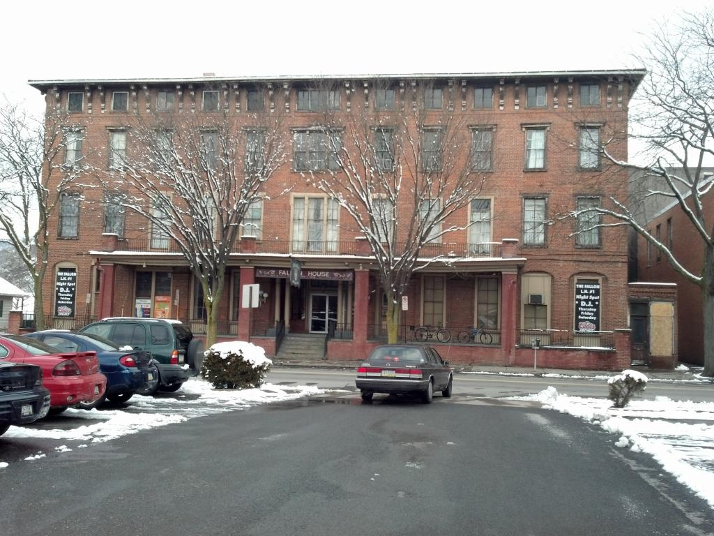 The Fallon House Hotel As It Is Today In Lock Haven Pennsylvania